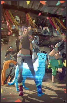 "metal-maniac-starship-mechanic: "" When CyberGoths Rule The World by Edgy Ziane """