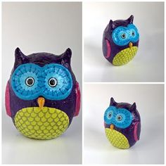 """Purple Owl"" by Holly St.Denis"