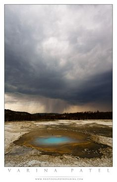 Yellowstone @ www.photographybyvarina.com/photography/photo-of-the-day/pearl-in-the-storm