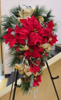 Mid Island Floral Art Club in Qualicum Beach B.C. Canada, hosted a Christmas Gala, these are a few of items that the members made that were sold at the Christmas Gala 2015