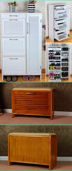 Beautiful Shoe Cabinet with Seat
