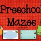 Mazes for preschoolers!    * Build Pre-Writing Skills   - Left to Right   - Fine Motor Skills * Problem Solving * Creative Thinking  Two ways to pl...