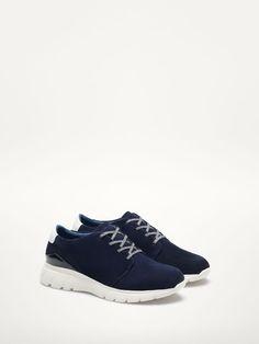 massimo dutti blue sneakers 59.95 €