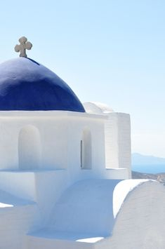 Church in Cyclades, Paros Island, Greece