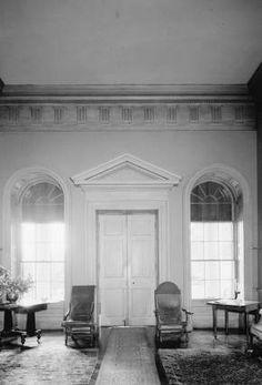 Interior, BREMO PLANTATION, Fluvanna County, Virginia.  -  HAUNTED