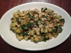 La mia cucina facile: Zucchine acciughe e pinoli