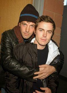 Ben and Casey Affleck ..... gorgeous