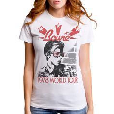 David Bowie 1978 World Tour Tee
