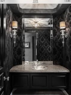 SJC Dramatic Remodel   Contemporary   Powder Room   Orange County   By  Orange Coast Interior Design
