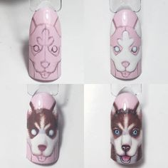 Choose from an Amazing Array of Nail Art Design Animal Nail Designs, Animal Nail Art, Nail Art Designs Videos, Toe Nail Designs, Nails Design, 3d Nail Art, Acrylic Nail Art, Cool Nail Art, Nail Arts