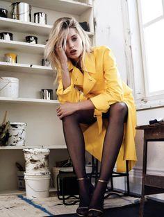 Abbey Lee Kershaw wears Ralph Lauren Spring 2015 Collection in Vogue Korea