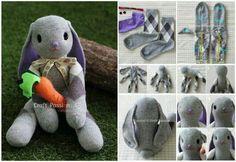 Hase aus Socken