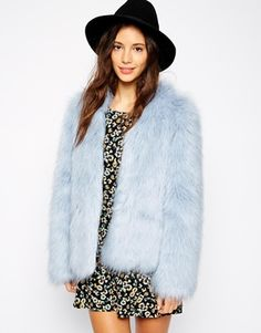 This pastel blue coat is a perfect girlie choice! http://asos.do/1DPVR7