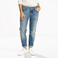 Die Evolution einer Legende. Die Original 501® Jeans, jetzt mit schmal…
