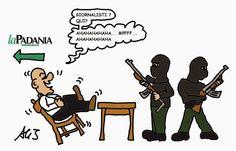 La padania, terrorismo, attentato, charlie hebdo