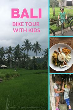 Bali bike tour with Ubud Cycling Bike - Rolling Along With Kids Bali With Kids, Japan With Kids, Travel With Kids, Family Travel, Bali Family Holidays, Bali Travel Guide, Travel Tips, Travel Destinations, Kids Things To Do