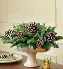 Image result for Christmas centrepieces PINECONES diy -candle
