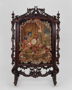 Victorian Fire Screens | Fire Screen, c.1855