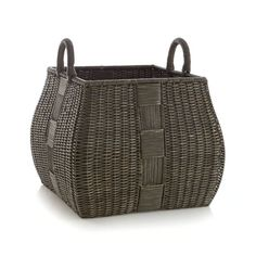 Add warmth, beauty and storage to any room with baskets from Crate and Barrel. Browse rattan, woven, wire and wicker baskets. Order online.
