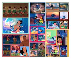 """""""Lilo and Stitch"""" by basic-disney ❤ liked on Polyvore featuring art"""
