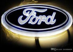 4D led emblem Ford white blue red color