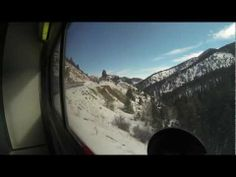 A gorgeous video of what you see on the California Zephyr.