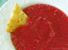 Nothing special. The hunt for a thin salsa continues! Veggie Snacks, Veggie Recipes, Mexican Food Recipes, Appetizer Recipes, Healthy Recipes, Ethnic Recipes, Appetizers, Yummy Recipes, Appetizer Ideas