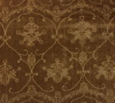 SCALAMANDRE PENNSBURY CARAMEL BROWN LINEN VELVET UPHOLSTERY FABRIC BY THE YARD #Scalamandre  Beautiful, but at $100/yd. a bit too expensive for me.