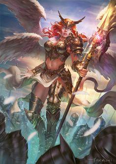 Goddess Befall by Takashi  Tan