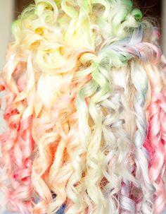 32 Rainbow Hair Styles | Beauty Darling