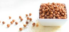 Crispy Spiced Chickpeas - One Handed Cooks