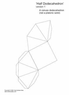 Net half isosceles dodecahedron (1)