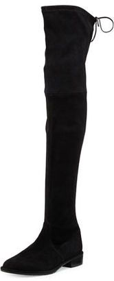 Shop Now - >  https://api.shopstyle.com/action/apiVisitRetailer?id=521108593&pid=2254&pid=uid6996-25233114-59 Stuart Weitzman Lowland Suede Over-The-Knee Boot  ...