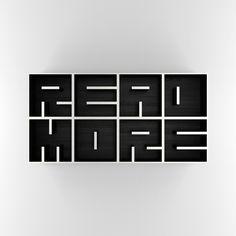 READMORE - a unique style book shelf.