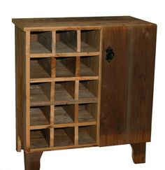 Reclaimed Rustic Barn Wood Wine Storage Cabinet rack With Glass Holder With Cupboard,Shelf TV Stand And Much More.
