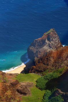 Na Pali beach, Kauai, Hawaii