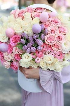 Beautiful Bouquet Of Flowers, Beautiful Flower Arrangements, Pink Flowers, Beautiful Flowers, Wedding Flowers, Beautiful Smile, Funeral Flower Arrangements, Funeral Flowers, Floral Arrangements