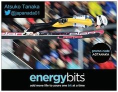 "ATSUKO TANAKA: Atsuko is a Canadian National Team Ski Jumper. She made history soaring through the sky in 2014 Winter Games in the first ever Women Ski Jumping event! ""I choose BITS because it works. Feeling better during training and more energized in general, it's like running on a full tank of gas! It's also WADA safe which is must for athletes, and because its not a supplement you can mix it into your daily smoothies."""