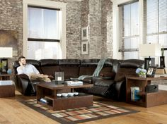 1000 Images About Reclining Sofa Sets On Pinterest Reclining Sectional Contemporary Design