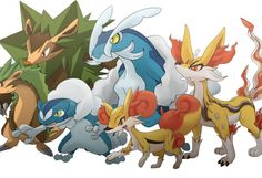 Who will you choose for your starter with Pokemon X and Y - Fennekin, Froakie or Chespin?