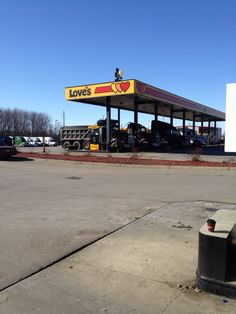 Love's gas-station in Ohio!
