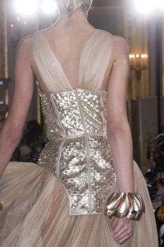 Oscar Carvallo at Couture Spring 2013 (Details)