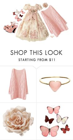 """""""Untitled #1832"""" by patpotato ❤ liked on Polyvore featuring Orelia, Accessorize, H&M and Yves Saint Laurent"""