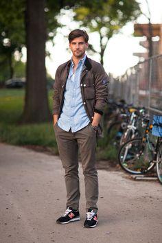 Johannes Huebl Street Style An All Weather Weekend Stylish Men, Men Casual, Johannes Huebl, New Balance Outfit, New Fashion, Fashion Outfits, Fashion Black, Fashion Ideas, Vintage Fashion