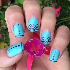 Vedi la foto di Instagram di @stabilmente_instabile • Piace a 3 persone #nails #nailart #nail💅🏻 #gelnails #tiffany #tiffanynails #pms1837 #pantone #purple #purplenails