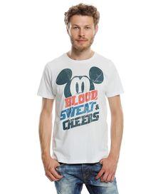Disney Mickey T-Shirt weiß in Größe XL für Mädchen und Jungen aus 100% Baumwolle