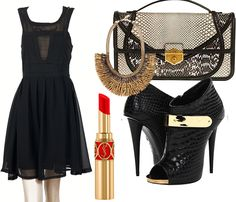 My little black dress..Suitable for every occasion and wearable any time of the year..!Cost..???? O N L Y 19.20 Euro!!! http://hipandspoiled.com/index.php?route=product%2Fproduct=113_171_id=11438