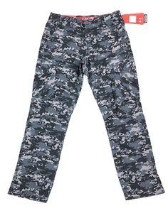 5a4f073f74bd4b Under Armour UA Performance Utility Cargo Pants Trousers Navy Camo Blue  32x30 | eBay Athletic Pants