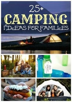 25+ Fun Camping Ideas for Families> time consuming link, but looks like some good stuff