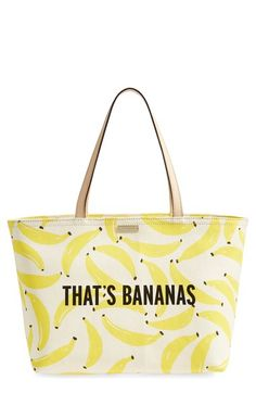 kate spade new york 'that's bananas - francis' tote available at #Nordstrom